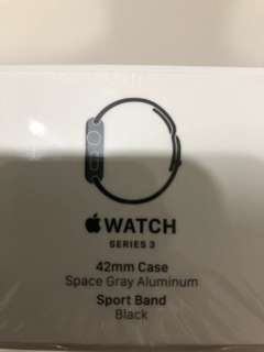 Apple Watch series 3 42mm GPS space grey