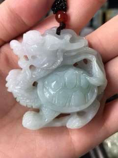⭐Pendant GradeA Myanmar Jade (龙龟) Not Available Yet