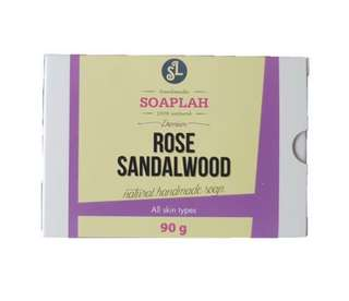 Cold Processed Soap Bar - Rose Sandalwood