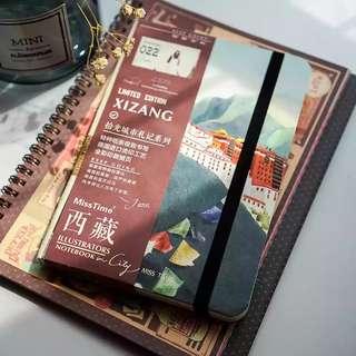 Mosrs Illustration Notebook City Series 022 Xizang