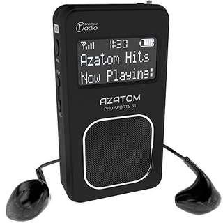 AZATOM pro sports S1 portable FM 📻