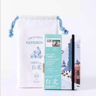 Mosrs Illustration Notebook City Series 025 Taipei