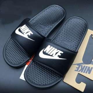 Nike Benassi Swoosh GD拖鞋 防滑運動拖鞋 沙灘鞋 情侶拖鞋 男女款