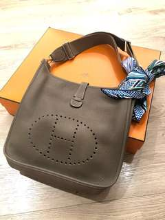 Hermes Evelyne PM 大象灰