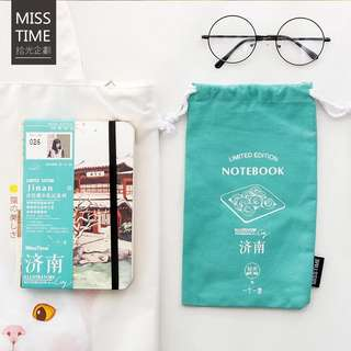 Mosrs Illustration Notebook City Series 026 Jinan
