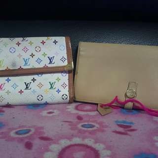 Authentic chanel and lv wallets
