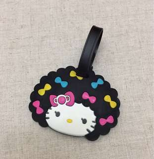 Silicon Hello Kitty Luggage Tag.