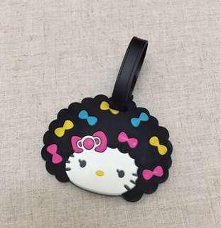 Silicon Hello Kitty Luggage Tag.