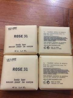 Le Labo body soap bar no parabens 40g