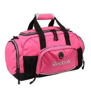 "REEBOK 20"" Pink Duffle Gym Travelling Bag"