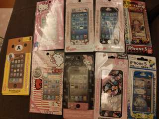 Iphone 3,4,5保護貼