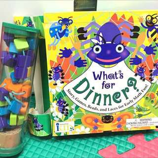 What's for dinner? Beads and Laces for Early Math Development