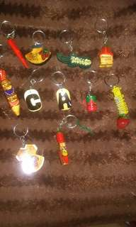 BAGUIO KEYCHAINS 100 na lahat