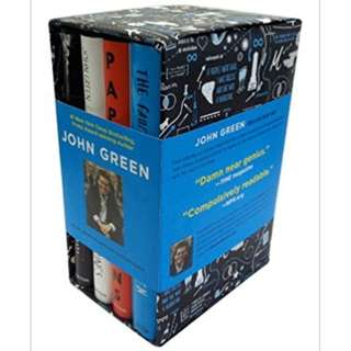 SIGNED Limted Edition John Green Box Set
