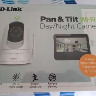 Dlink Pan & Tilt CCTV
