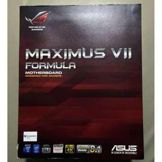 ASUS Maximus VII Formula Motherboard + Intel i7 4790K Processor
