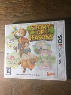 3DS game Story of Seasons US