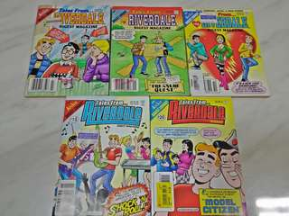Archies  Comics. Tales from the Riverdale Digest Comics