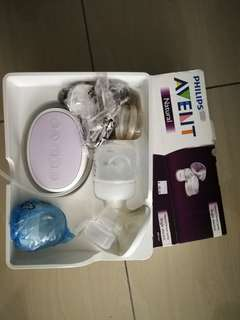 Avent single breast pump