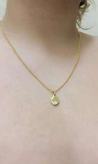 PURE STAINLESS GOLD NECKLACE