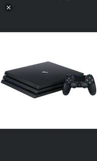 PS4 Pro 1TB Console (Buy any games or Accessory to get $24 off final bill)