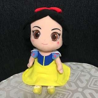 🚚 白雪公主 10吋 娃娃 玩偶 Q版白雪公主 正版 迪士尼 公主