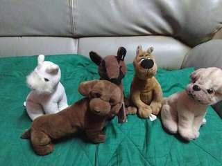 Set of dog's