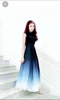 FOR RENT: Bernadette Ombre Gown Theory Of Seven Size L