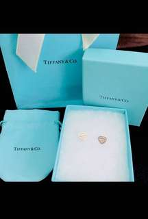 Tiffany&Co sliver 925  earrings
