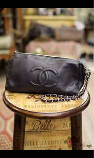 Chanel WristPouch Caviar Leather