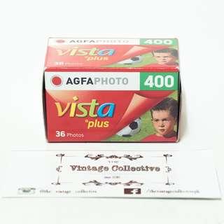 Agfa Vista Plus 400 35mm film (36 shots)