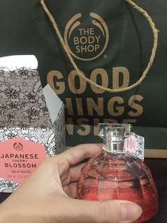 Japanese cherry blossom the body shop