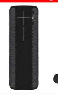 BNIB UE boom 2 portable bluetooth speaker - Phantom black