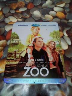 We bought a Zoo blu-ray disc (For sale)