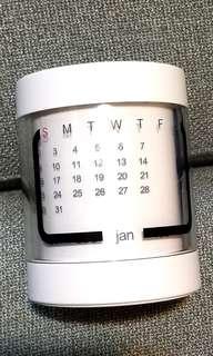 Swarovski 施洛華世奇 水晶萬年曆