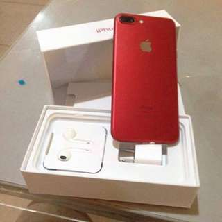 iPhone 7Plus 128GB RED EDITION LTE OPENLINE TO ALL SIM. 09089675137