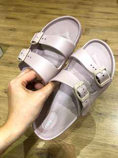 Rubi - Plastic Birkenstock-style sandals Nude Pink color