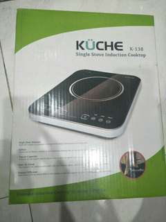 Kompor Listrik (Kuche Single Stove Introduction Cooktop) K-138