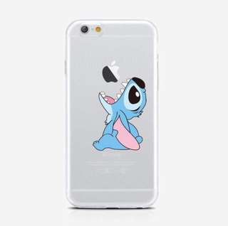 Stitch Clear iPhone5 Soft Case