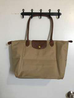 Longchamp beige Large LePliage