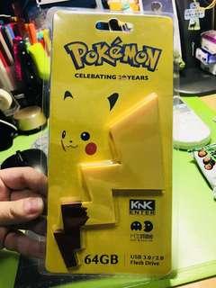 全新Pokemon 比卡超 20周年usb