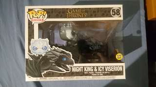 Funko Pop Ride GoT Night King and Icy Viserion