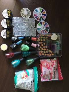 Nail Salon Starter Kit, Comes with all supplies pictured
