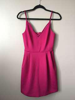 Pink Dynamite Dress