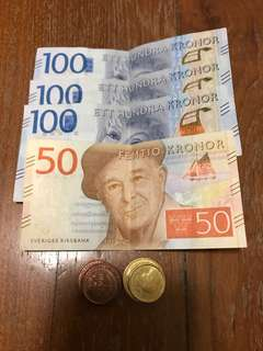 Swedish Kronor (SEK)