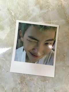 防弹少年团 namjoon Rm WINGS 小卡 Bts album photocard