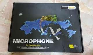 Ktv wireless microphone system