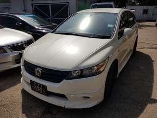 2009 Honda Stream Rn6 siap semua sampai malaysia reg 🇲🇾
