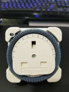 Timer plug 24 hrs turn on and off devices automatically