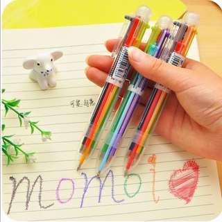 3Pcs colorful ballpoint pen